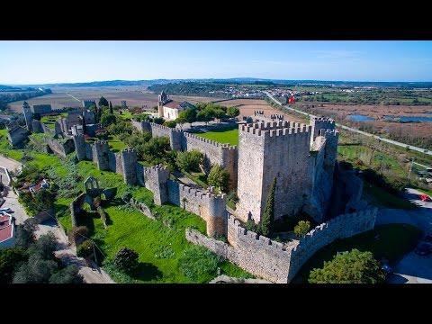 Montemor-o-Velho Castle Aerial View